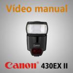 Vídeo-manual-Canon-430-EX-II
